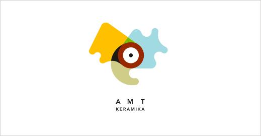 Logotipų kūrimas - AMT Keramika