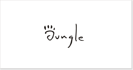 jungle-logo-wordmark-typeface-design