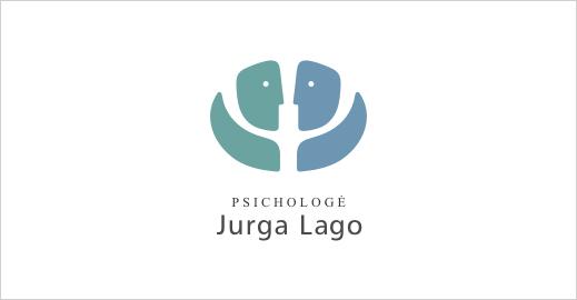 Logotipas psichologei Jurgai Lago