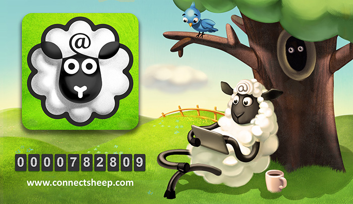 Connect 1 billion sheep